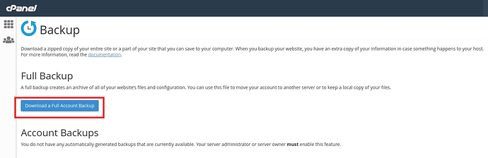 cPanel to CWP